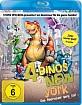 4 Dinos in New York Blu-ray
