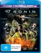 47 Ronin (2013) 3D (Blu-ray 3D + Blu-ray + UV Copy) (AU Import) Blu-ray