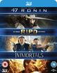 47 Ronin 3D + R.I.P.D 3D + Immortals 3D (Triple Feature) (Blu-ray 3D) (UK Import) Blu-ray
