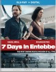 7 Days in Entebbe (2018) (Blu-ray + UV Copy) (US Import ohne dt. Ton) Blu-ray