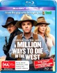A Million Ways to Die in the West (2014) (AU Import ohne dt. Ton) Blu-ray
