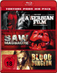 A Serbian Film + Saw Massacre + Blood Dungeon (Torture Porn 3er Pack) Blu-ray
