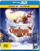 A Christmas Carol (2009) 3D (Blu-ray 3D + Blu-ray) (AU Import ohne dt. Ton) Blu-ray