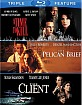 A Time to Kill (1996) + The Pelican Brief + The Client - Triple Feature (US Import) Blu-ray