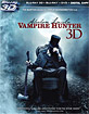 Abraham Lincoln: Vampire Hunter 3D (Blu-ray 3D + Blu-ray + DVD + UV Copy) (US Import ohne dt. Ton) Blu-ray