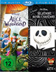 Alice im Wunderland & Nightmare before Christmas (Doppelset) (Neuauflage) Blu-ray