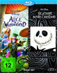 Alice im Wunderland & Nightmare before Christmas (Doppelset) Blu-ray