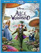 Alice in Wonderland (2010) - 3-Disc Edition / Blu-ray + DVD + Digital Copy (US Import ohne dt. Ton) Blu-ray
