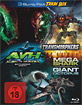 AVH - Alien vs. Hunter + Mega Shark vs. Giant Octopus + Transmorphers (Trash Box) Blu-ray