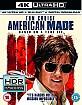 American Made (2017) 4K (4K UHD + Blu-ray + UV Copy) (UK Import) Blu-ray