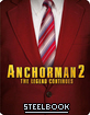 Anchorman 2: The Legend Continues - Entertainment Store Exclusive Limited Edition Steelbook (UK Import ohne dt. Ton) Blu-ray