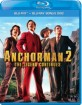 Anchorman 2: The Legend Continues (Blu-ray + Bonus Blu-ray) (FI Import) Blu-ray