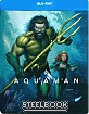 Aquaman (2018) - Illustrated Artwork Edition Steelbook  (IT Import ohne dt. Ton) Blu-ray