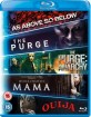 As Above, So Below - The Purge (2013) - The Purge: Anarchy - Mama (2013) - Ouija (2014) (Starter Pack) (UK Import) Blu-ray