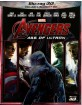 Avengers: Age of Ultron (2015) 3D (Blu-ray 3D + Blu-ray) (IT Import) Blu-ray