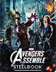 Avengers Assemble 3D - Zavvi Exclusive Limited Edition Steelbook (Blu-ray 3D) (UK Import ohne dt. Ton) Blu-ray