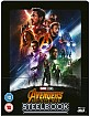 Avengers: Infinity War 3D - Zavvi Exclusive Lenticular Steelbook (Blu-ray 3D + Blu-ray) (UK Import) Blu-ray