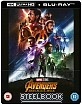 Avengers: Infinity War 4K - Zavvi Exclusive Lenticular Steelbook (Blu-ray 3D + Blu-ray) (UK Import) Blu-ray