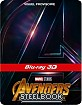 Avengers: Infinity War 3D - FNAC.fr Exclusive Limited Edition Steelbook (Blu-ray 3D + Blu-ray) (FR Import ohne dt. Ton) Blu-ray
