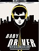 Baby Driver (2017) 4K - Best Buy Exclusive Steelbook (4K UHD + Blu-ray + UV Copy) (US Import) Blu-ray