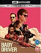 Baby Driver (2017) 4K (4K UHD + Blu-ray + UV Copy) (UK Import ohne dt. Ton) Blu-ray