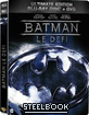 Batman: Le Defi - Ultimate Edition Steelbook (Blu-ray + DVD) (FR Import) Blu-ray