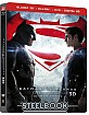 Batman V Superman : L'aube De La Justice 3D - Steelbook (Blu-ray 3D + 2 Blu-ray + DVD + UV Copy) (FR Import ohne dt. Ton) Blu-ray