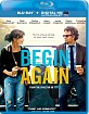 Begin Again (2013) (Blu-ray + UV Copy) (Region A - US Import ohne dt. Ton) Blu-ray