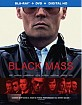 Black Mass (2015) (Blu-ray + DVD + UV Copy) (US Import ohne dt. Ton) Blu-ray