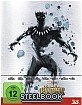 Black Panther (2018) 3D (Limited Steelbook Edition) (Blu-ray 3D + Blu-ray)