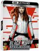 Black Widow (2021) 4K - Limited Edition Steelbook (4K UHD + Blu-ray) (SE Import)