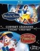 Blanche Neige et les sept nains + Pinocchio - Coffret Legendes 2-Film-Collection (FR Import) Blu-ray