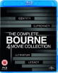 Bourne: The Complete 4 Movie Collection (UK Import) Blu-ray