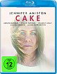 Cake (2014) (Blu-ray + UV Copy) Blu-ray