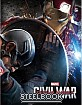 Captain America: Civil War (2015) 3D - WeET Exclusive Limited Full Slip Lenticular Edition Steelbook (Blu-ray 3D + Blu-ray) (KR Import ohne dt. Ton)