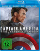 Captain America: Der erste Rächer 3D - Limited 3D Edition (Blu-ray 3D + Blu-ray + DVD + Digital Copy) Blu-ray