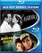 Casablanca + The African Queen (Blu-ray Double Feature) (US Import ohne dt. Ton) Blu-ray