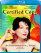 Certified Copy (UK Import ohne dt. Ton) Blu-ray