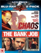 Chaos + The Bank Job (Legends Blu-ray 2 Pack) (UK Import ohne dt. Ton) Blu-ray