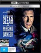 Clear and Present Danger 4K (4K UHD + Blu-ray) (AU Import) Blu-ray
