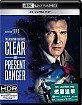 Clear and Present Danger 4K (HK Import) Blu-ray