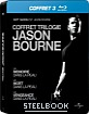 Coffret trilogie Jason Bourne - Steelbook (FR Import)