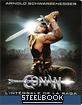 Conan le Barbare + Conan le Destructeur (Double Feature) (Steelbook) (FR Import) Blu-ray
