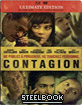 Contagion - Steelbook (Blu-ray + DVD + Digital Copy) (FR Import) Blu-ray