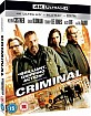Criminal (2016) 4K (4K UHD + Blu-ray + UV Copy) (UK Import ohne dt. Ton) Blu-ray