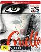 Cruella (2021) 4K - JB Hi-Fi Exclusive Steelbook (4K UHD + Blu-ray) (AU Import ohne dt. Ton) Blu-ray