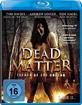 Dead Matter - Terror of the Undead Blu-ray