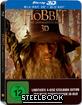 Der Hobbit: Eine unerwartete Reise 3D - Limited Edition Steelbook inkl. 3D-Magnet-Lenticularcover (Blu-ray 3D + Blu-ray)
