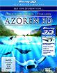 Die Azoren 3D: Auf den Spuren von Entdeckern, Walen und Vulkanen - Teil 1-3 (Blu-ray 3D) im Digipak