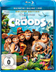 Die Croods 3D (Deluxe Edition) (Blu-ray 3D + Blu-ray + DVD) (Neuauflage) Blu-ray